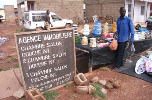 Article : « Les démarcheurs » : les agents immobiliers de Ouagadougou